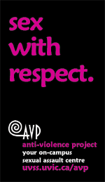 AVP card: Sex with Respect
