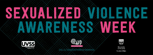 Sexualized violence awareness week at Uvic