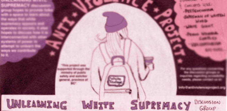 New discussion group, Unlearning White Supremacy