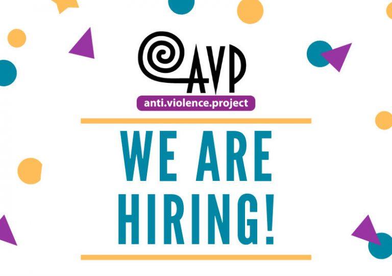 *Closed* AVP is hiring a Volunteer Organizer!