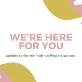 AVP response to COVID-19