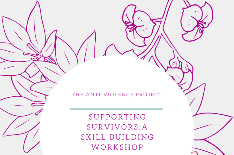 Supporting students and survivors during COVID-19