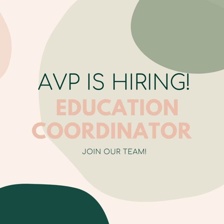 *Closed* We're searching for a new Education Coordinator