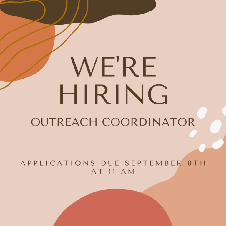 *Closed* AVP is Hiring! We're Searching for an Outreach Coordinator.
